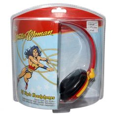 Wonder Woman headphones