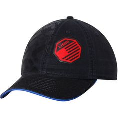 UFC Reebok USA Authentic Fighters Slouch Adjustable Hat - Black - - $24.99