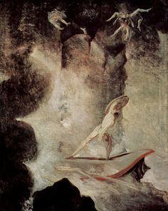 John Henry Fuseli/ Johann Heinrich Füssli, Odysseus in front of Scylla and Charybdis | Dark Classics