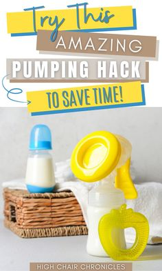 Looking for breast pumping tips for beginners? Check out this awesome time-saving mom hack for pumping breastmilk. This breast pumping tip will make your pumping schedule so much easier. If you're a pumping and breastfeeding mom, you need to learn this little trick that is seriously life saving! This is one of the best pumping tips out there! High Calorie Baby Food, Saving Tips, Time Saving, Pumping Schedule, How To Introduce Yourself, Make It Yourself, Postpartum Recovery, Baby Feeding, Best Mom