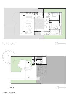 Un volumen monolítico con un patio central que baña el interior de la construcción y organiza sus espacios es la idea principal de esta casa en São Paulo (Brasil), obra de los arquitectos Felipe Hsu y Lucas Bittar.