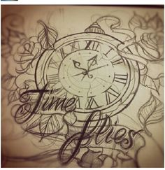 I like the tattoos with clocks and time. if I get a half sleeve I will for sure include something referring to time.