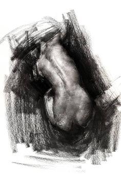 Figure#D203, Zin Lim 22 H x 15 W in  --  55 x 38 cm