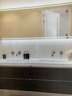 Bathroom Lighting, Sweet Home, Mirror, Furniture, Home Decor, Bathroom Light Fittings, Bathroom Vanity Lighting, Decoration Home, House Beautiful