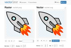 Online Vectorizer: Online raster to vector converter. Convert your images (jpeg, jpg or png) into scalable and clear vector art (svg,eps,dxf). Raster To Vector, Vector File, Vector Art, Blur, Convert Image To Vector, Vector Converter, Online Images, Your Image, Service Design