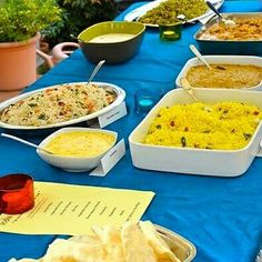 A NEW BUFFET / A NEW INDIAN BIRTHDAY PARTY ~ UN NUOVO BUFFET / UNA NUOVA FESTA INDIANA DI COMPLEANNO  * India At Your Home * #indiaatyourhome #india #indianparty #birthday #birthdayparty #indianattraction #quality #buffet #florence #firenze #table #colors #instagood #picoftheday #kerala #keralafood #lemonrice #pulishery #chickenbiryani #raita #pappadam #basheerkuttymansoor #indianfood #excellentfood