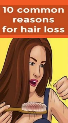 10 COMMON REASONS FOR HAIR LOSS! Most women face the problem of hair loss. Is this a pathology or not? On average, we lose around 80 to 100 strands of hair daily. Moreover, it is considered the nor… Hair Loss Reasons, Vitamins For Women, Hair Loss Women, Hair Loss Remedies, Prevent Hair Loss, Hair Loss Treatment, Fall Hair, Woman Face, Hair Growth