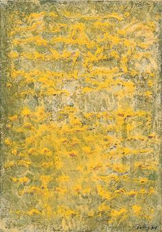 Mark Tobey, Green and Yellow Moments