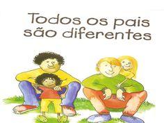 Title Slide of Dia do pai todos os pais são diferentes