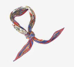Hermès Astres et Soleils Pleated Silk Scarf