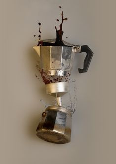 "thefunkydictator: "" urbnite: ""Bialetti Moka Express "" more dope sh*t "" I Love Coffee, Coffee Art, My Coffee, Coffee Shop, Coffee Cups, Coffee Maker, Espresso Maker, Espresso Coffee, Coffee Machine"