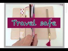 flush Zippered Pocket On Travelers Notebook - YouTube