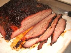 Smoked Brisket - Every Thursday - from the Short Bus BBQ Crew @Edz Wingz