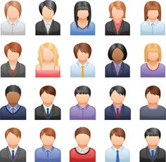 icon for the arts | ... vector set of business people icons includes 25 icons in a eps file