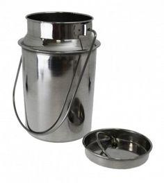 SIXBY Milch - Transportkanne 1,0 Liter mit Deckel