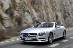 Mercedes SL 500 ~ Smooth Ride