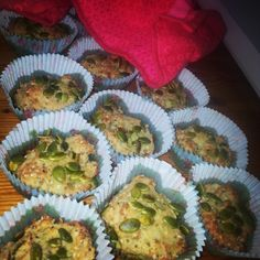 Paleobröd i muffinsformar