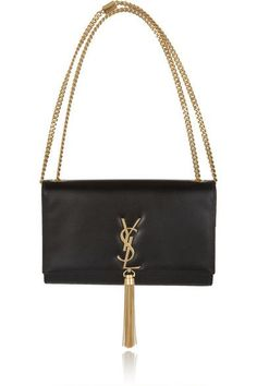 Saint Laurent | Monogramme leather shoulder bag | NET-A-PORTER.COM