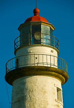 Point AuBarques Light Lake Huron, Michigan #lighthouses #lighthouse #michigan