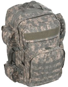 Sandpiper of California Long Range Bugout Backpack ACU Camo 26x155x105Inch ** Click on the image for additional details.