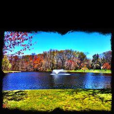 Nomahegan Park Lake Cranford NJ ...