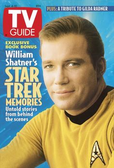 TV Guide September 4, 1993 - William Shatner of Star Trek.
