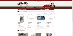 Farid Imóveis - Sistema de cadastro de imóveis e desenvolvimento de site