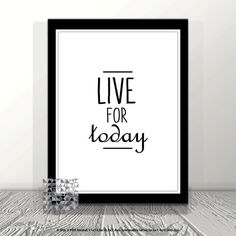Typographic Print Digital Print inspirational by PrintToPieces