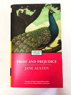 Jane Austen. Pride and Prejudice. Paperback book. Classic literature fiction. University college. Free Shipping!