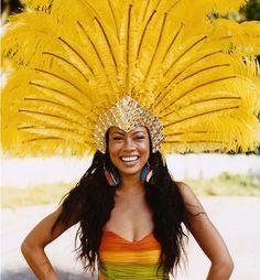 Carnival (Miss Trinidad Anaya Ayoung-Chee) in Trinidad photo by Mischa Richter