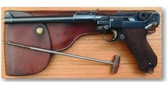 1917 DWM LP-08 Artillery Luger. Luger Pistol, Revolver, German Army, Hand Guns, Wwii, Weapons, Pistols, Lp, Germany