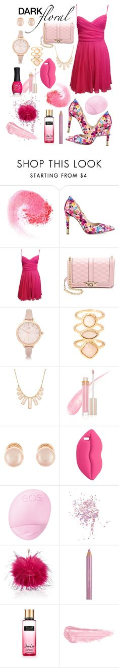 """NoTitle #43"" by amra-sarajlic ❤ liked on Polyvore featuring NARS Cosmetics, GUESS, Rebecca Minkoff, River Island, Monsoon, Rivka Friedman, Stila, Kenneth Jay Lane, STELLA McCARTNEY and Eos"