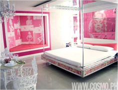 Key Interiors by Shinay: Glamour Teenage Girl Room Ideas