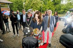 """20 JUNE 2014  Crown Princess Mary Crown Princess  Mary opened the Danish children's libraries shared reading campaign """"Sommerbogen 2014"""""""