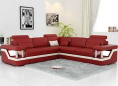 Why you should buy sofa from reputed sofa manufacturers - Decorating ideas Small Sleeper Sofa, Sectional Sofa With Recliner, Leather Sectional Sofas, Sofa Couch, Lounge Sofa, Furniture Sofa Set, Cheap Furniture, Canape D Angle Design, Angles