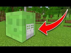 How to Live Inside a Slime in Minecraft Tutorial (Pocket Edition, PS4/3, Xbox, Switch, PC) - YouTube