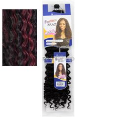 """Freetress Water Wave 12"""" - Color TP1B/530 - Synthetic Braiding"""