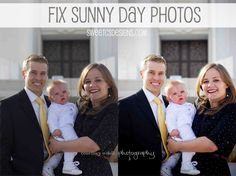 How To Fix Sunny Day Photos