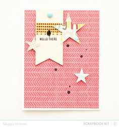 Hello There Card by maggie holmes at Studio Calico