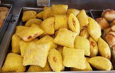 Rissole de Milho #lanchepolos (em Polos Pães e Doces)