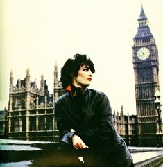Siouxsie Sioux in London