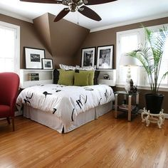 Corner Bed Design Ideas, Pictures, Remodel, and Decor - page 2                                                                                                                                                     More