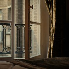 Parisian window sill