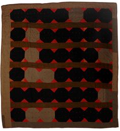 African American quilt, Mississippi 1930's-40's