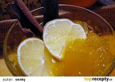Dýňovocitrusový kompot recept /2020 20 Min, Punch Bowls, Lime, Pudding, Fruit, Desserts, Food, Pineapple, Tailgate Desserts