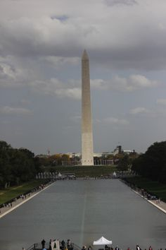 The Washington Monument is an obelisk on the National Mall in Washington, D.C., built to commemorate George Washington, commander-in-chief of the Continental Army and the first American president