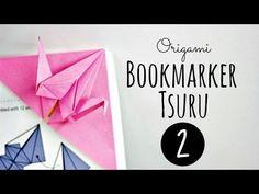 Origami - Marcador de livro - YouTube