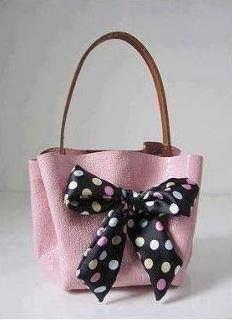 bolso sin coser de cuero 1