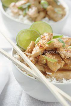 Honey, Lime & Ginger Chicken #food #recipe