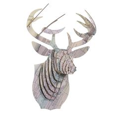 Bucky Deer Bust New York City Wall Décor